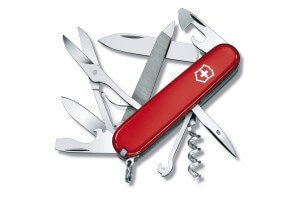 Couteau suisse Victorinox Mountaineer rouge 91mm 18 fonctions