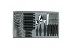Set de 24 couverts de table Victorinox - Manche noir