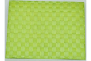 Set de table Saleen rectangulaire 30x40cm lime II